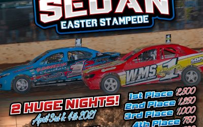 IAN BOETTCHER RACE PARTS EASTER STAMPEDE ANNOUNCED