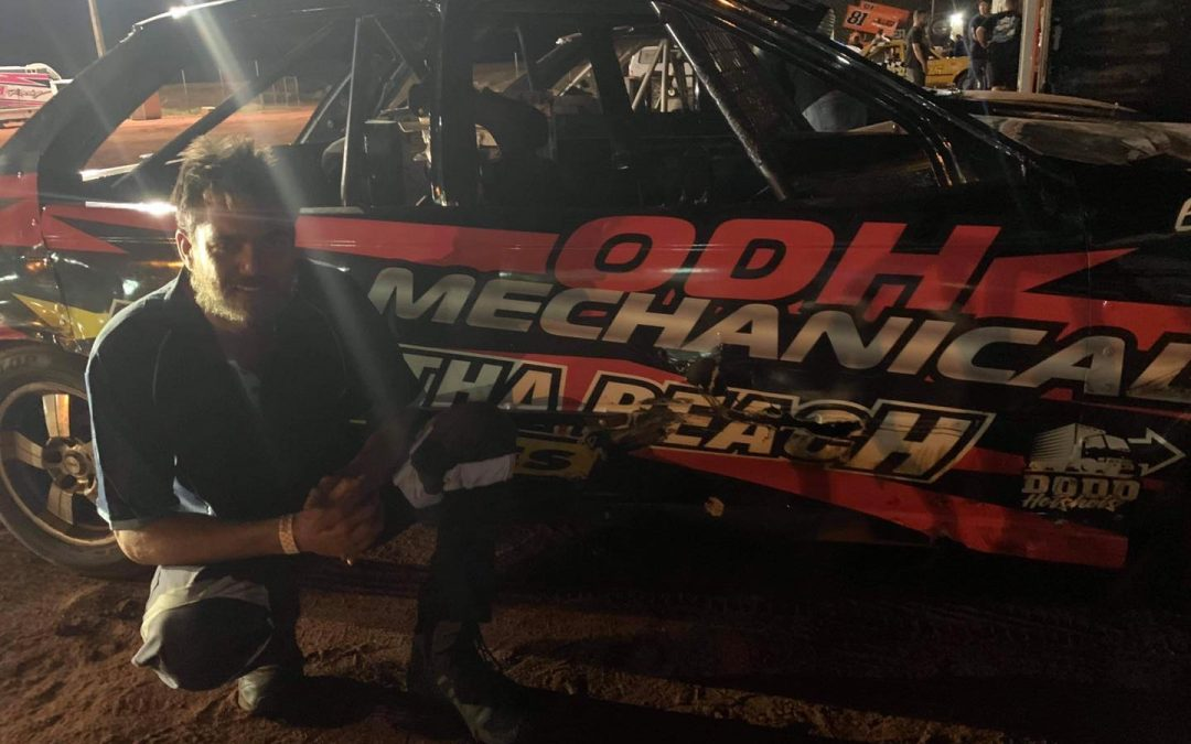 MARKS LEADS AFTER NIGHT ONE IN KARRATHA