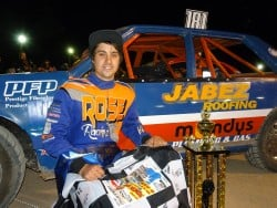 Barry Rose Wins State Production Sedan Title