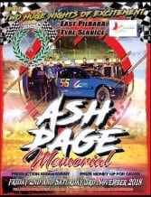 Ash Page Memorial This Weekend