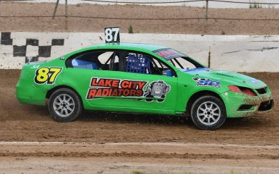 ROUND ONE OF THE MJS STREET STOCK SERIES GOES TO JAYDEN EDWARDS