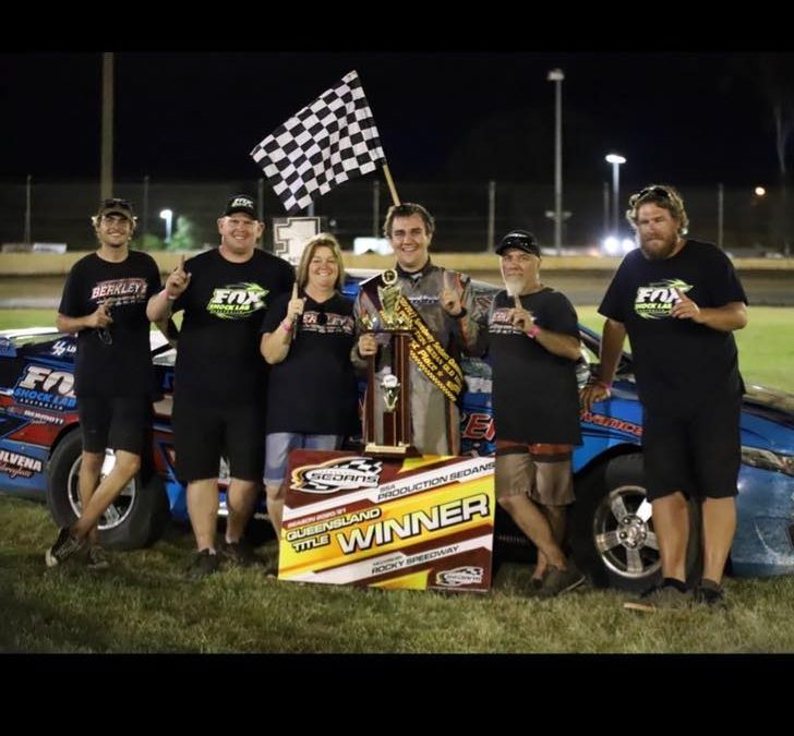 BERKLEY CLAIMS INAUGURAL WIN IN THE QLD TITLE