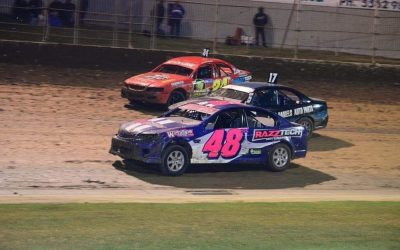 STREET STOCKS HITTING THE HIGH BANKS AT PREMIER ONCE AGAIN