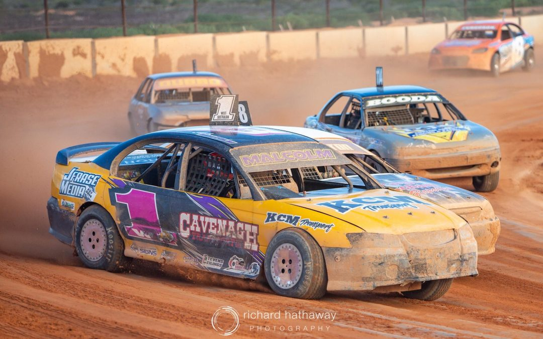 MALCOLM MIGHTY IN THE MODIFIEDS